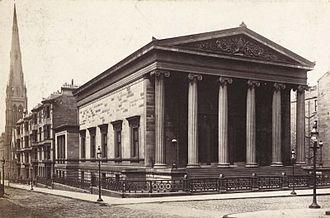 John Burnet (architect) - Elgin Place Congregational Church, 1856.