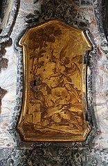 Elia nel deserto svegliato e nutrito dall'angelo