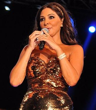 Elissa (Lebanese singer) - Elissa in August 24, 2012