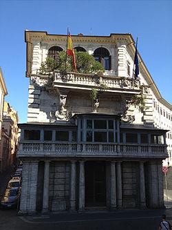 el verdugo del borghese 250px-Embassy_of_Spain_in_Rome