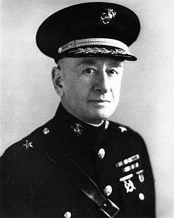 Emile P. Moses American Marine Corps Major General