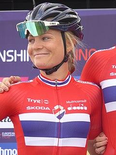 Emilie Moberg Norwegian racing cyclist