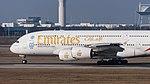 Emirates Airbus A380-861 A6-EDW MUC 2015 06.jpg