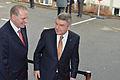 Empfang IOC Präsident Thomas Bach mit Jacques Rogge (2 von 9).jpg