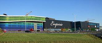 Emporia (shopping mall) - Image: Emporia från norr