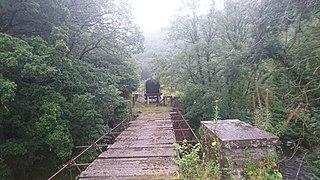 Carmarthen–Aberystwyth line Former railway line in Wales