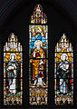 Enniskillen St. Michael's Church West Aisle Window 05 Saints Dominic, Alphonsus, and Ignatius 2012 09 17.jpg