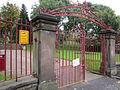 Entrance to Dukinfield Park.JPG