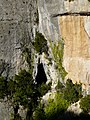 Entre la cova d'en Marc i el forat de la Vella P1070463.JPG