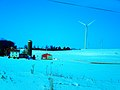 Epic Wind Turbine and a Farm - panoramio.jpg