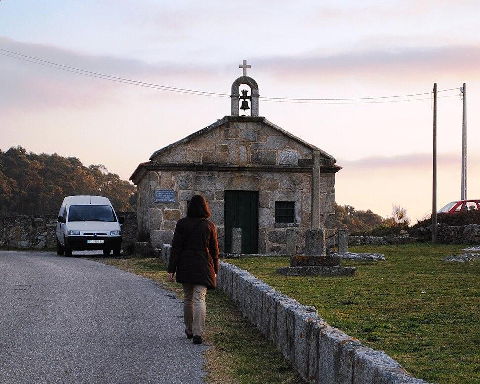 Ermida de S. Sebastián, no Arrabal.