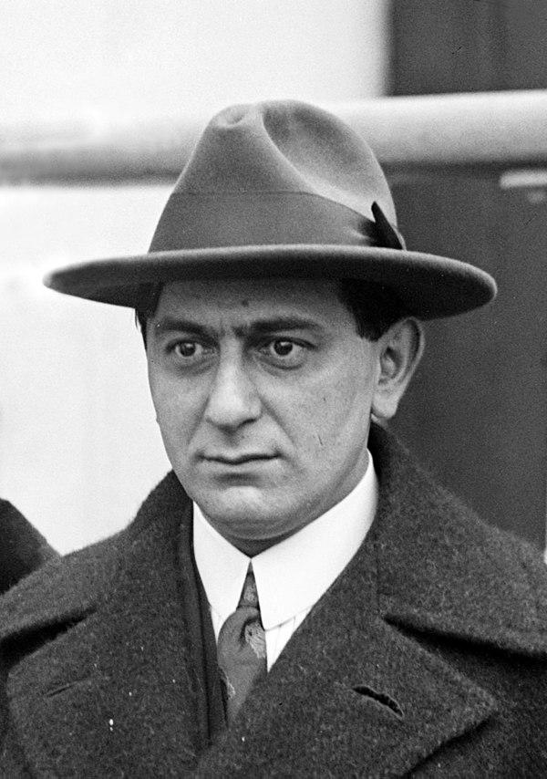 Photo Ernst Lubitsch via Wikidata