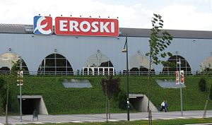 Eroski - An Eroski supermarket in Vitoria