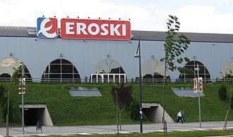 Eroski - An Eroski supermarket in Vitoria