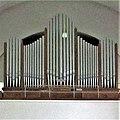 Eschringen, Pfarrkirche St. Laurentius Orgelprospekt.JPG