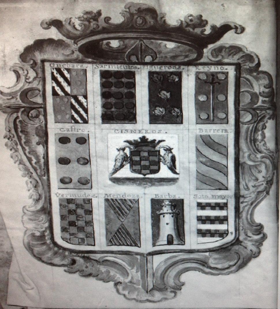 Escudo de los Condes de Gimonde