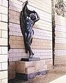 Estátua A. Alsina. Jardins de Walter Benjamin de D.Navas, N. Solé, I. Jansana.jpg