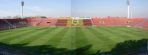 Estadio Nueva España - Panoramic of Nueva España Stadiums in Buenos Aires.