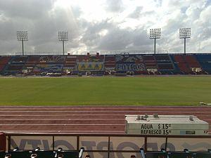 Estadio Andrés Quintana Roo - Image: Estadio Quintana Roo (Main Stand)