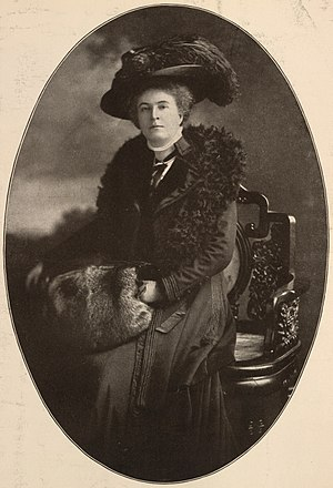 Ethel Arnold - Advert for her 1910 US lecture tour