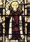 Ethelbert, King of Kent from All Souls College Chapel