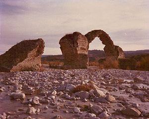 Guardialfiera - Bridge of Saint Anthony, photographed in 1972