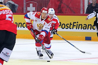 Sergei Andronov - Image: Euro Hockey Challenge, Switzerland vs. Russia, 22nd April 2017 49