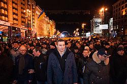 Кличко Виталий Владимирович Википедия Во главе протеста на Евромайдане 30 ноября 2013 года