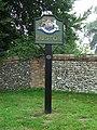 Euston Village Sign - geograph.org.uk - 949801.jpg