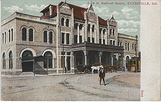 Louisville and Nashville Railroad Station (Evansville, Indiana) United States historic place