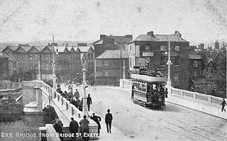 Tramways in Exeter