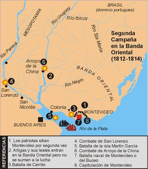 Primer bloqueo del puerto de Buenos Aires.