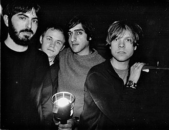 Explosions in the Sky - From left to right: Mark Smith, Michael James, Munaf Rayani, and Chris Hrasky