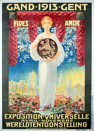 Exposition universelle et internationale (1913) - Poster for the exhibition