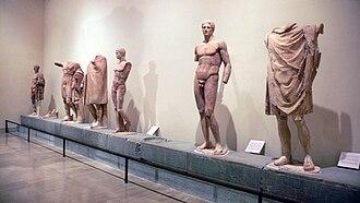 Ex voto of Daochos - The ex voto of Daochos at the Delphi Archaeological Museum