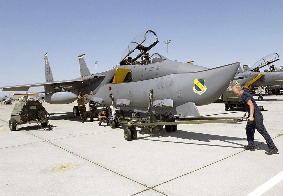 F-15E CFT
