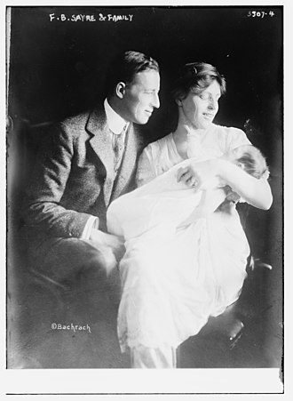 Francis Bowes Sayre Sr. - Sayre and Jessie Wilson Sayre with their son, 1915