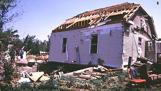 Fujita scale - F1 damage example