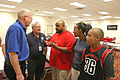 FEMA - 37160 - FEMA and SBA representatives talk to residents in Iowa.jpg