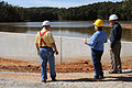 FEMA - 42294 - FEMA Public Assistance Officers with County Official at Dam.jpg