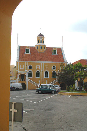 Fort Amsterdam (Curaçao) - Image: FORT AMSTERDAM CHURCH, WILLEMSTAD, CURACAO
