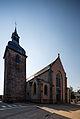 Façade de l'église Saint-Pierre, Plélan-le-Grand, France.jpg