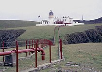 Fair Isle North lighthouse from the fog horn (geograph 4311594).jpg