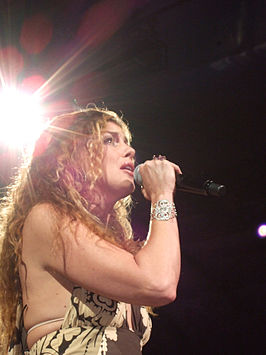Faith Hill Tijdens haar Soul2Soul II Tour in Dallas, Juli 29, 2006