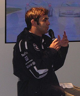 Antônio Pizzonia Brazilian racing driver