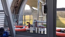 File:Falkirk Wheel Timelapse from Inside a Boat.webm