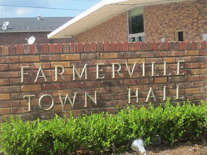Farmerville, Louisiana - Farmerville Town Hall
