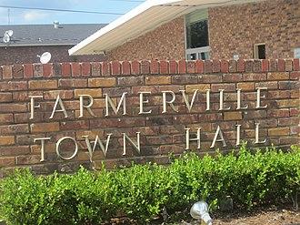 Farmerville, Louisiana - Farmerville Town Hall