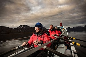 Ocean rowing - Fiann Paul, Alex Gregory and Carlo Facchino ocean rowing aboard Polar Row II