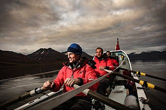 Ocean rowing - Fiann Paul, Alex Gregory and Carlo Facchino ocean rowing aboard Polar Row II